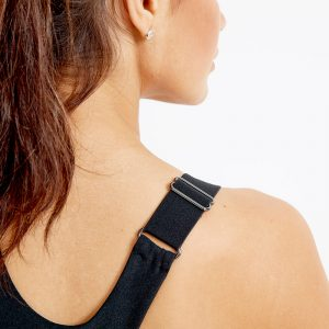 Optifit Comp Sustainable Sports Bra Top – Black