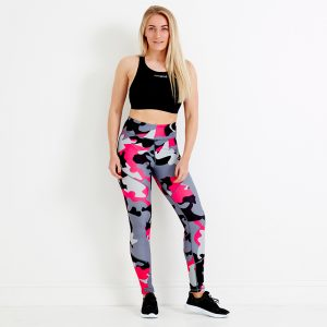 Terrain Sustainable Sports Leggings – Magenta