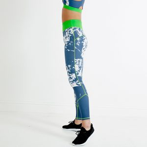 Stellar Sustainable Sports Leggings – Lime