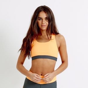 Airstream Sports Bra Top – Orange
