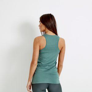 Tor Longline Sports Vest Top – Grey Verde