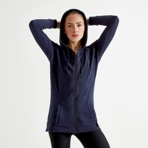 Signature Hooded Top – Navy